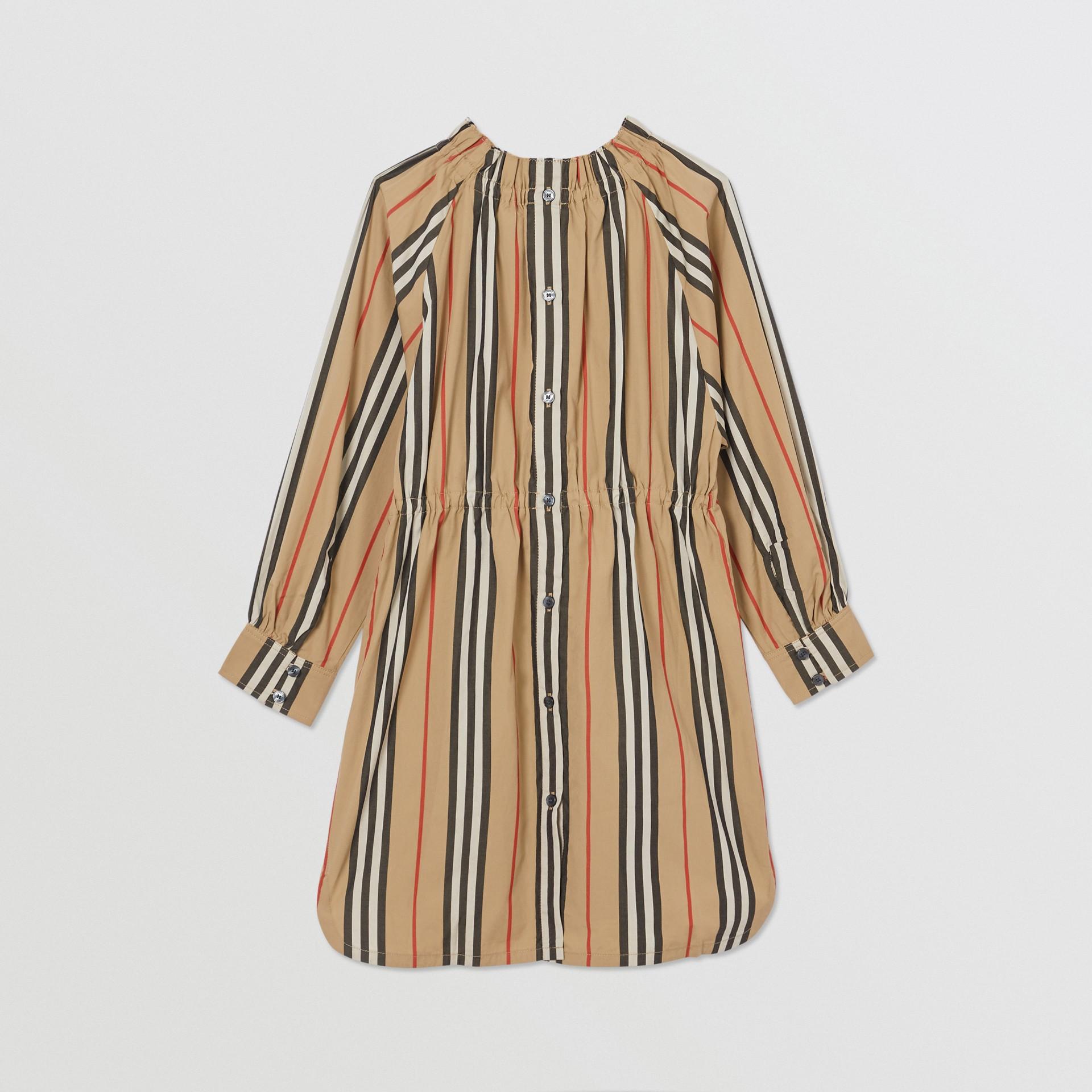 アイコンストライプ コットンポプリン ドレス (アーカイブベージュ) | バーバリー - ギャラリーイメージ 3