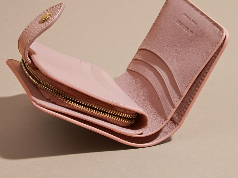 Patent London Leather Wallet in Ash Rose - cell image 4