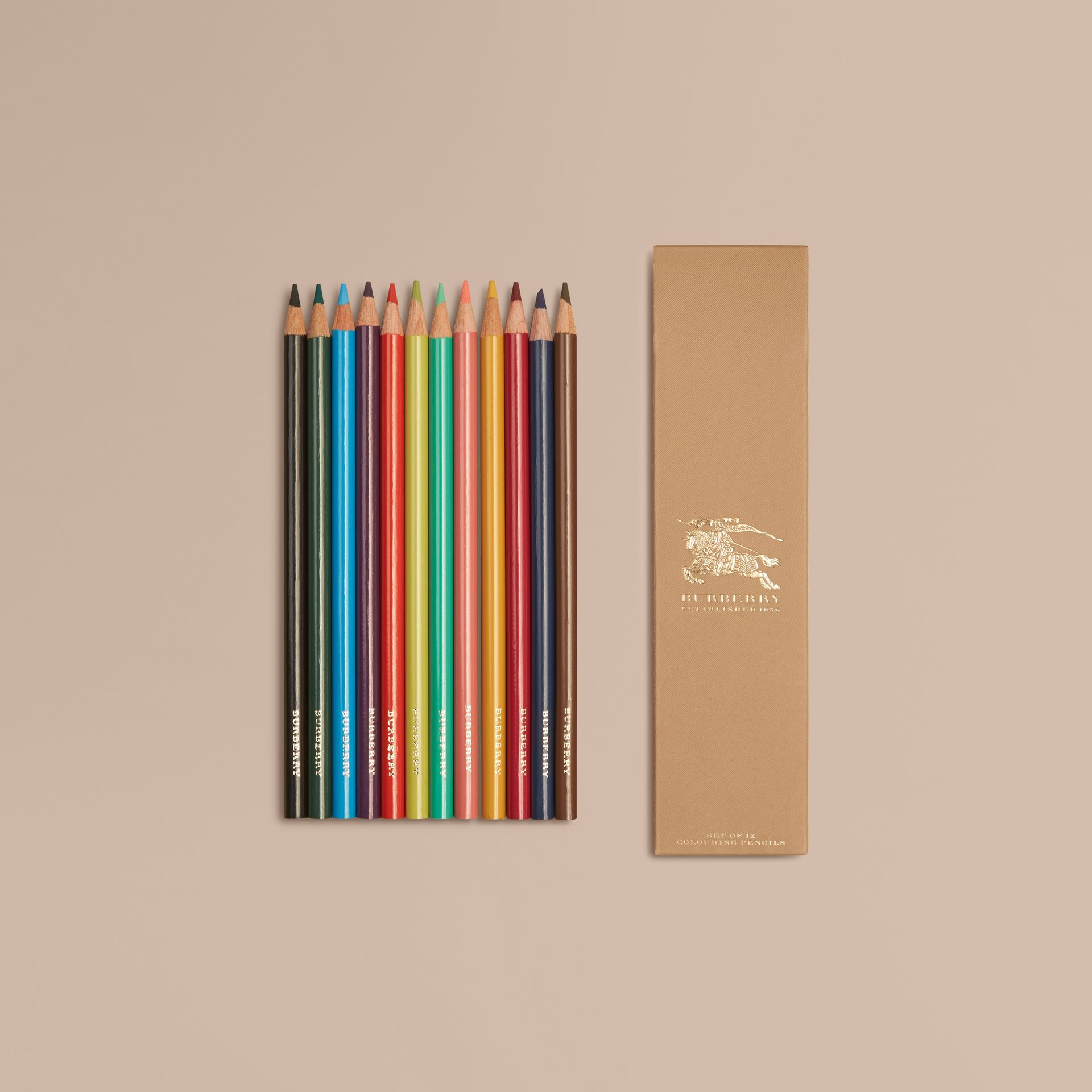 Set of Coloured Pencils | Burberry - gallery image 1