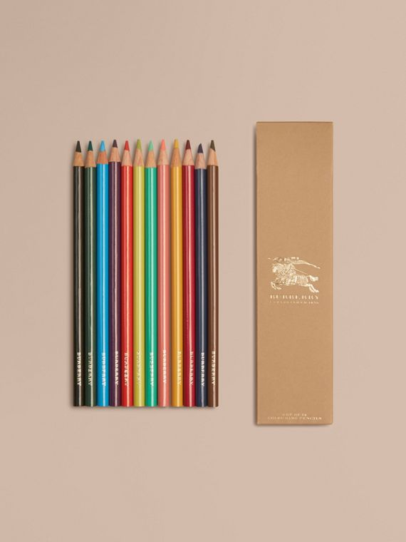 Set of Coloured Pencils | Burberry Singapore