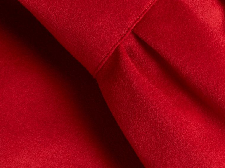 Parade red Tailored Wool Cashmere Coat with Bell Sleeves Parade - cell image 1