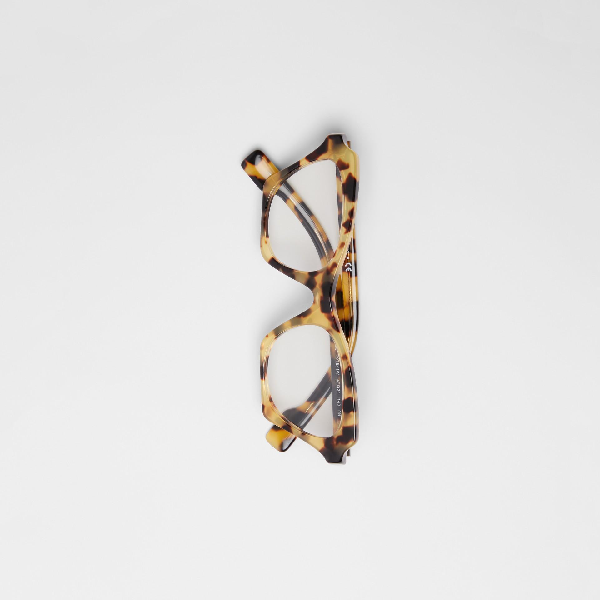 Lunettes de vue papillon (Écaille  Tortue) - Femme | Burberry - photo de la galerie 3