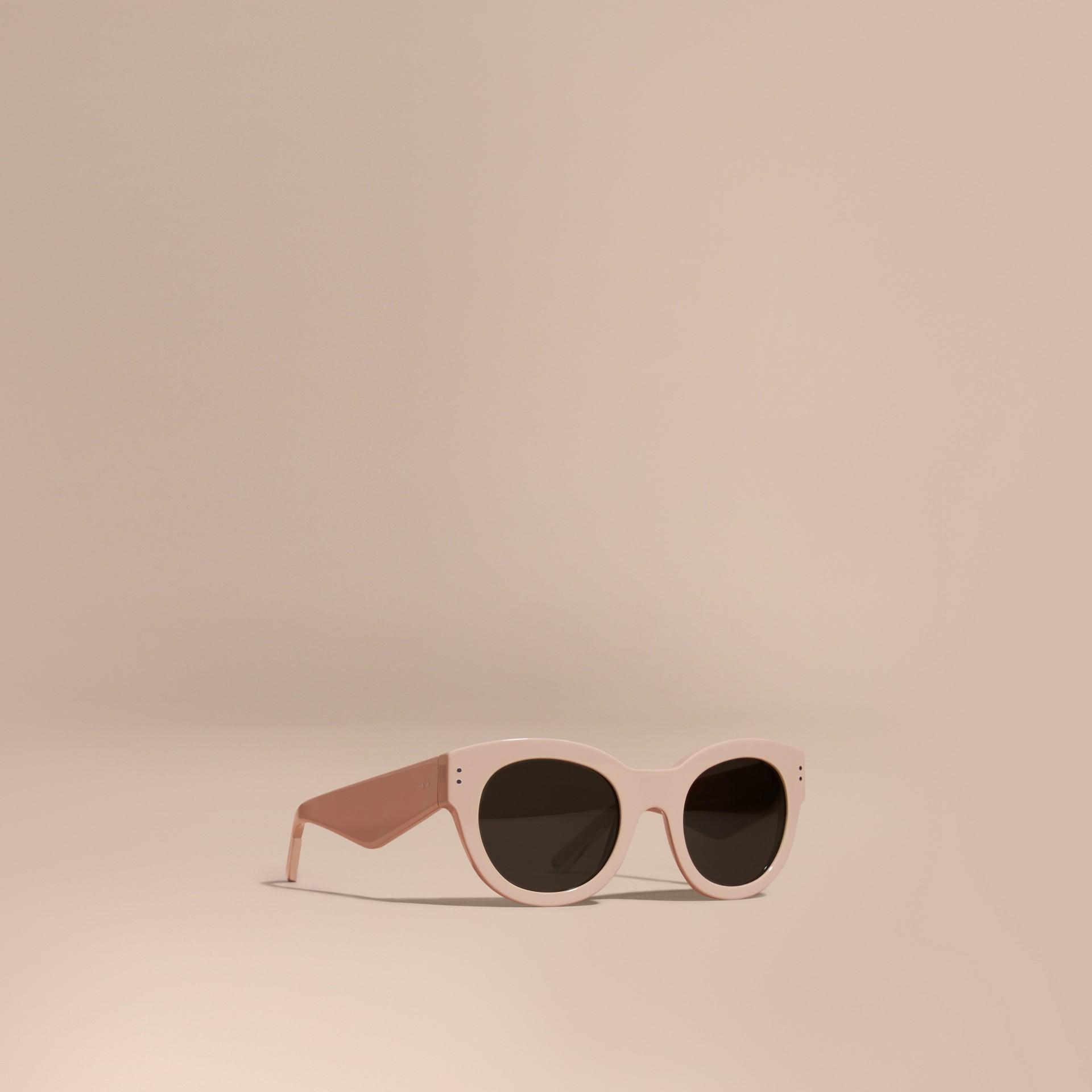Nude Cat-eye Sunglasses Nude - gallery image 1
