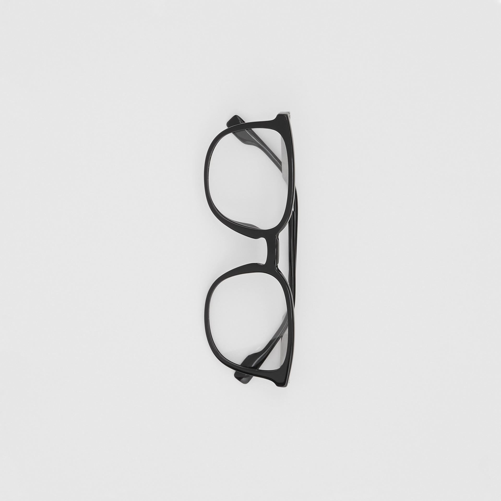 Gafas de ver con montura cuadrada (Negro)   Burberry - imagen de la galería 2