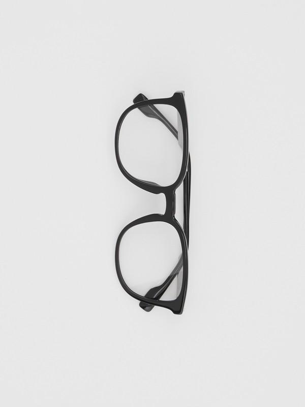 Gafas de ver con montura cuadrada (Negro)   Burberry - cell image 2
