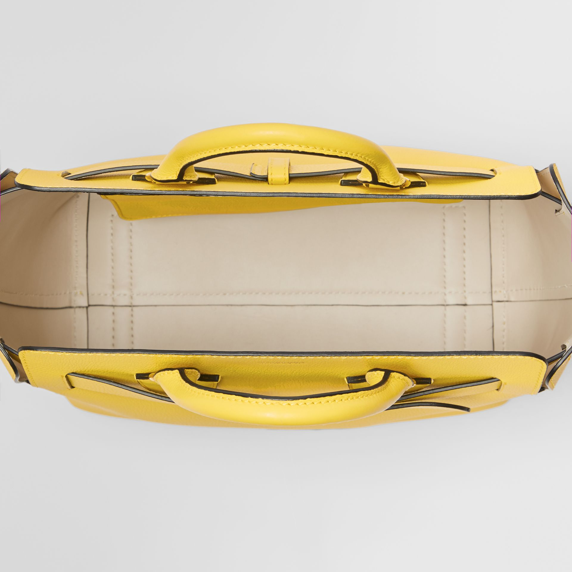 The Medium Leather Belt Bag in Bright Larch Yellow - Women | Burberry United States - gallery image 5
