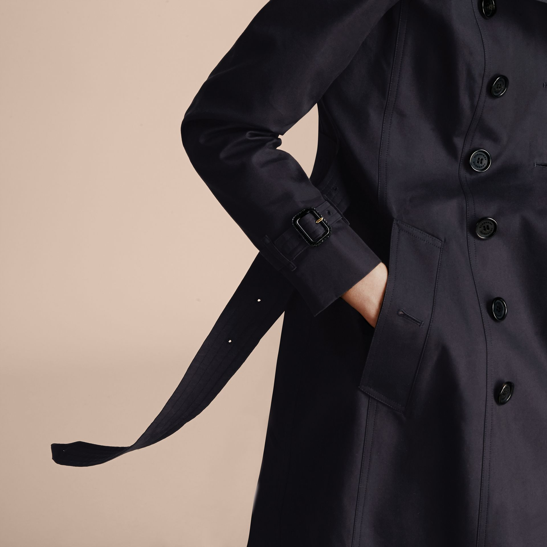 Marine Trench-coat Heritage extra-long The Chelsea Marine - photo de la galerie 7