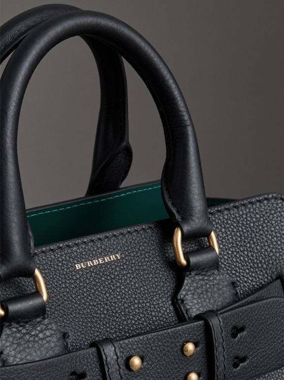 The Small Leather Belt Bag in Black - Women | Burberry - cell image 1