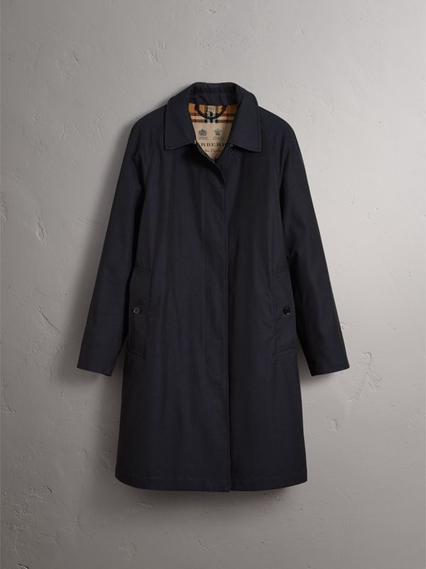The Camden - Car Coat (Azul Carbono) - Mulheres | Burberry - cell image 3
