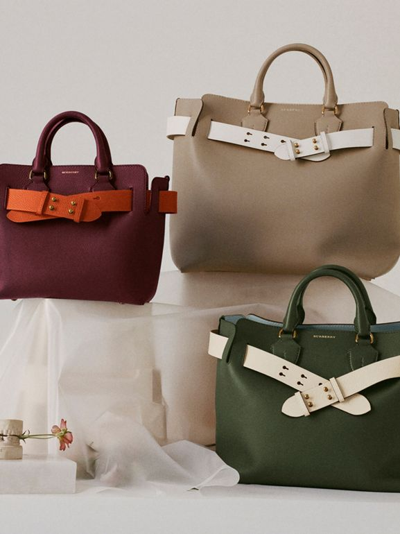 Sac The Belt moyen en cuir (Vert Sauge) - Femme | Burberry - cell image 1