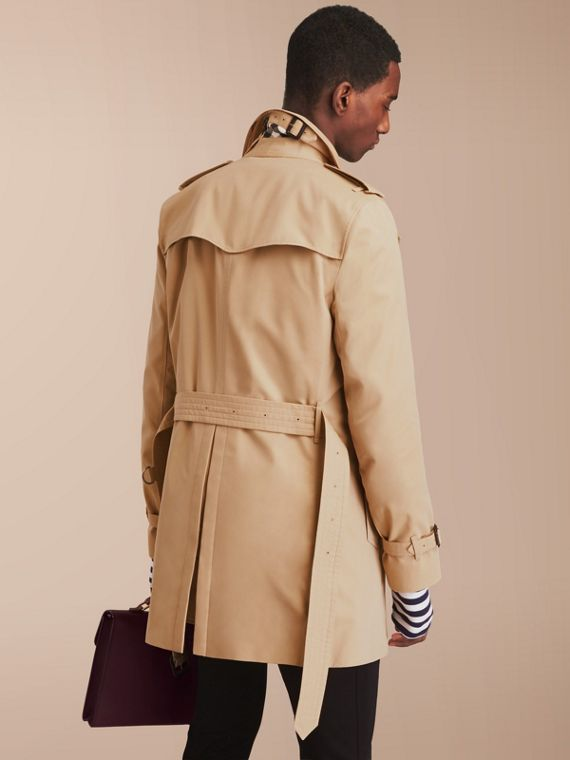 The Sandringham – Mid-length Heritage Trench Coat in Honey - cell image 2