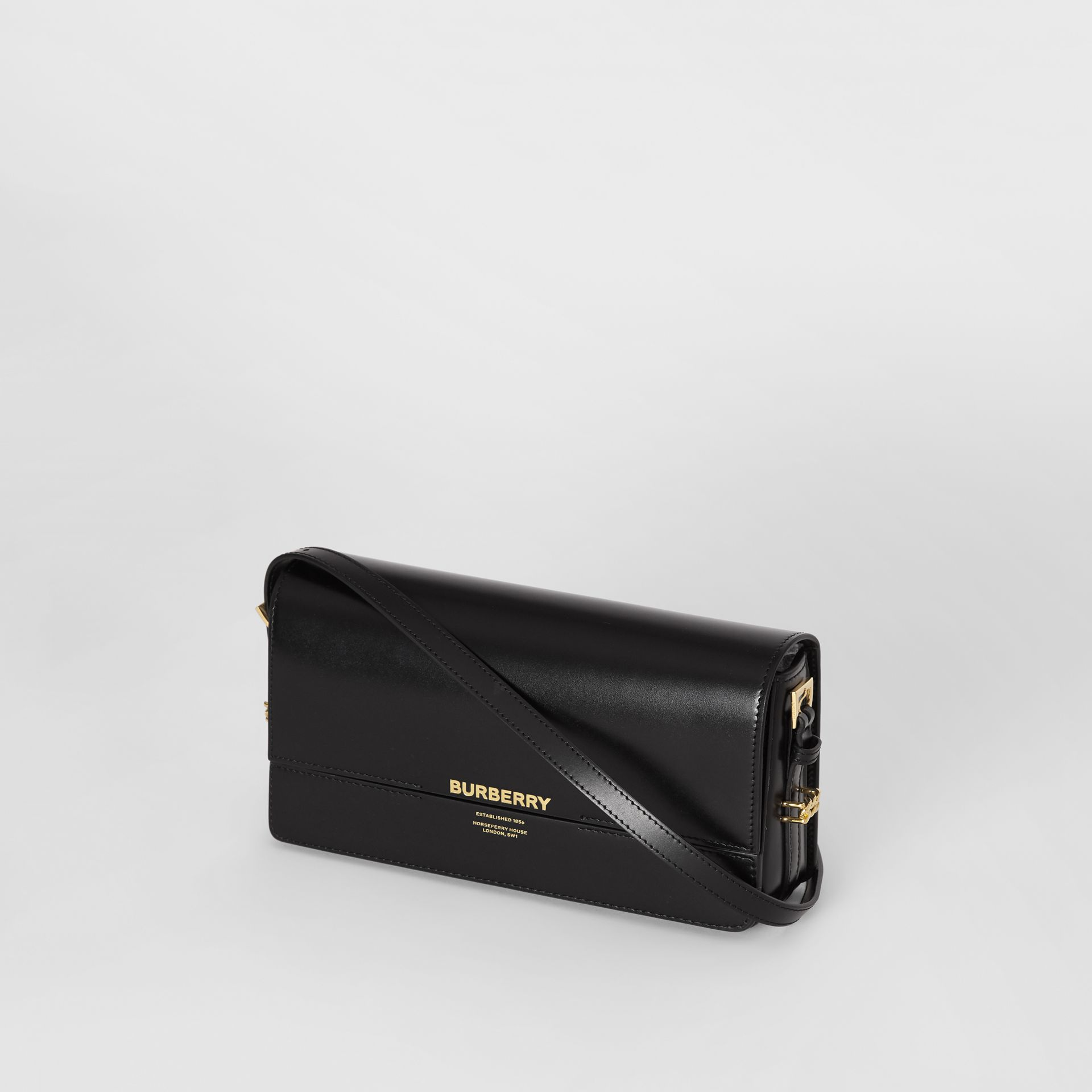 Mini Leather Grace Bag in Black - Women | Burberry United Kingdom - gallery image 3