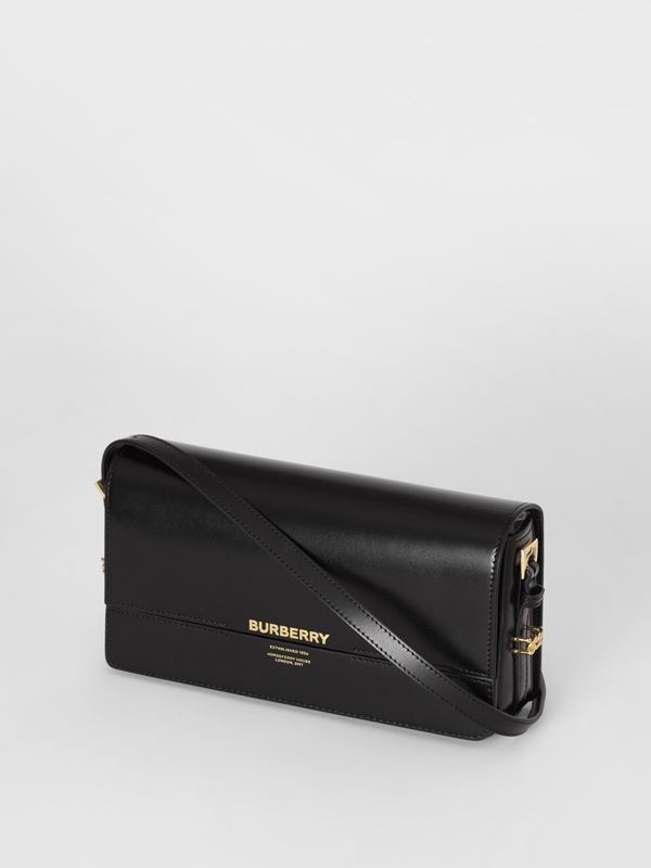 Mini Leather Grace Bag in Black - Women | Burberry - cell image 3