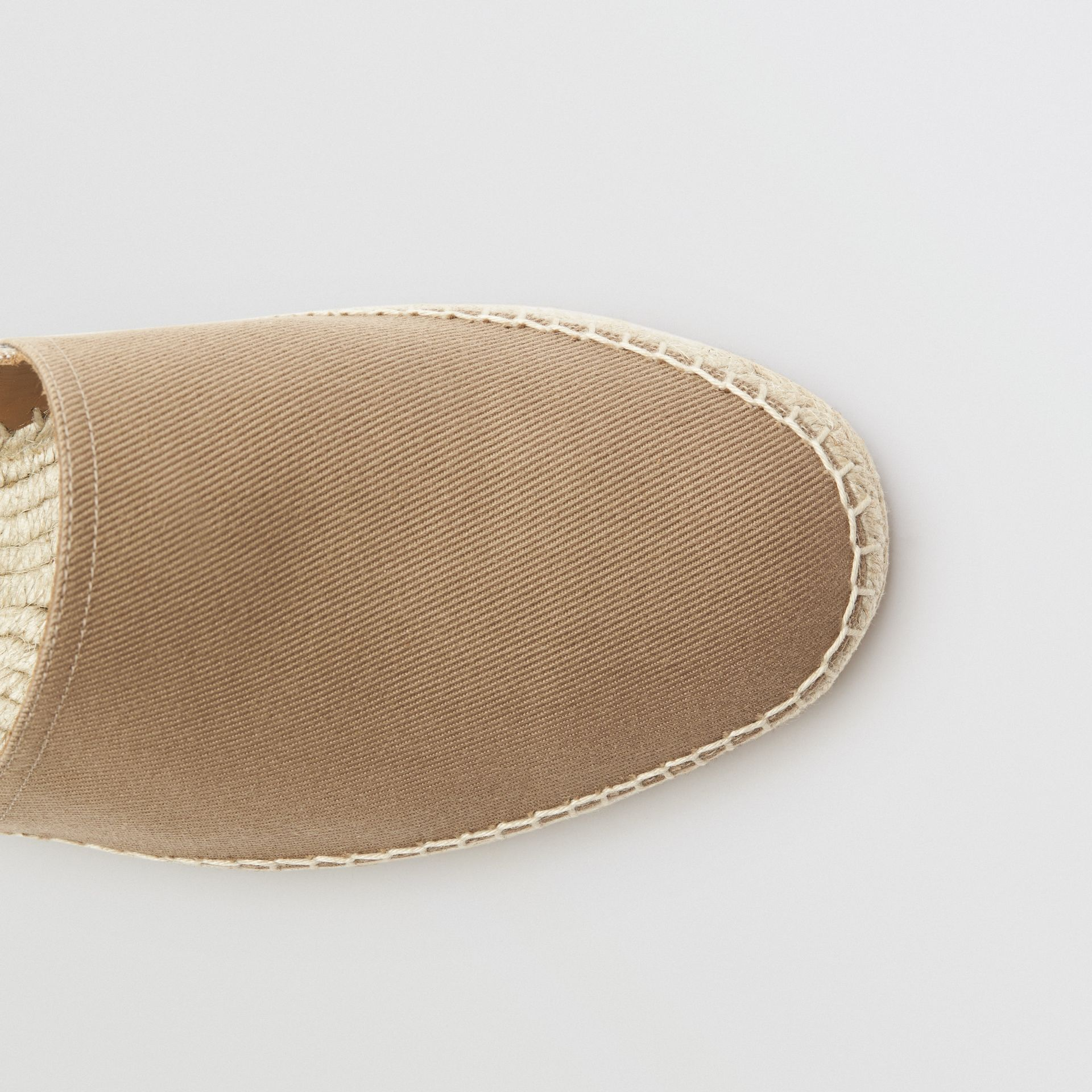 Canvas Check Espadrilles in Classic - Men | Burberry United States - gallery image 1