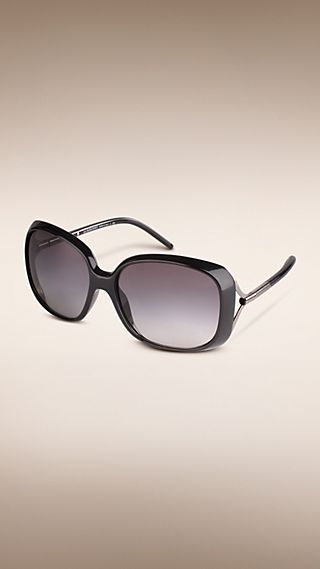 Trench Collection Oversize Square Frame Sunglasses