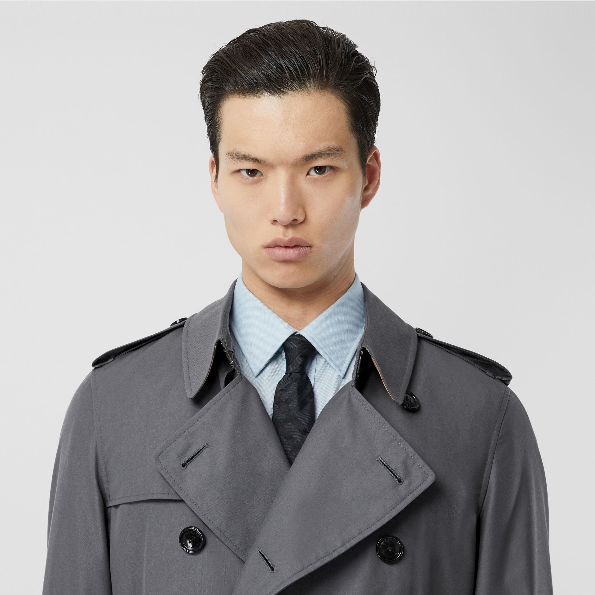 The Chelsea Heritage Trench Coat in Mid Grey - Men | Burberry United States - gallery image 1