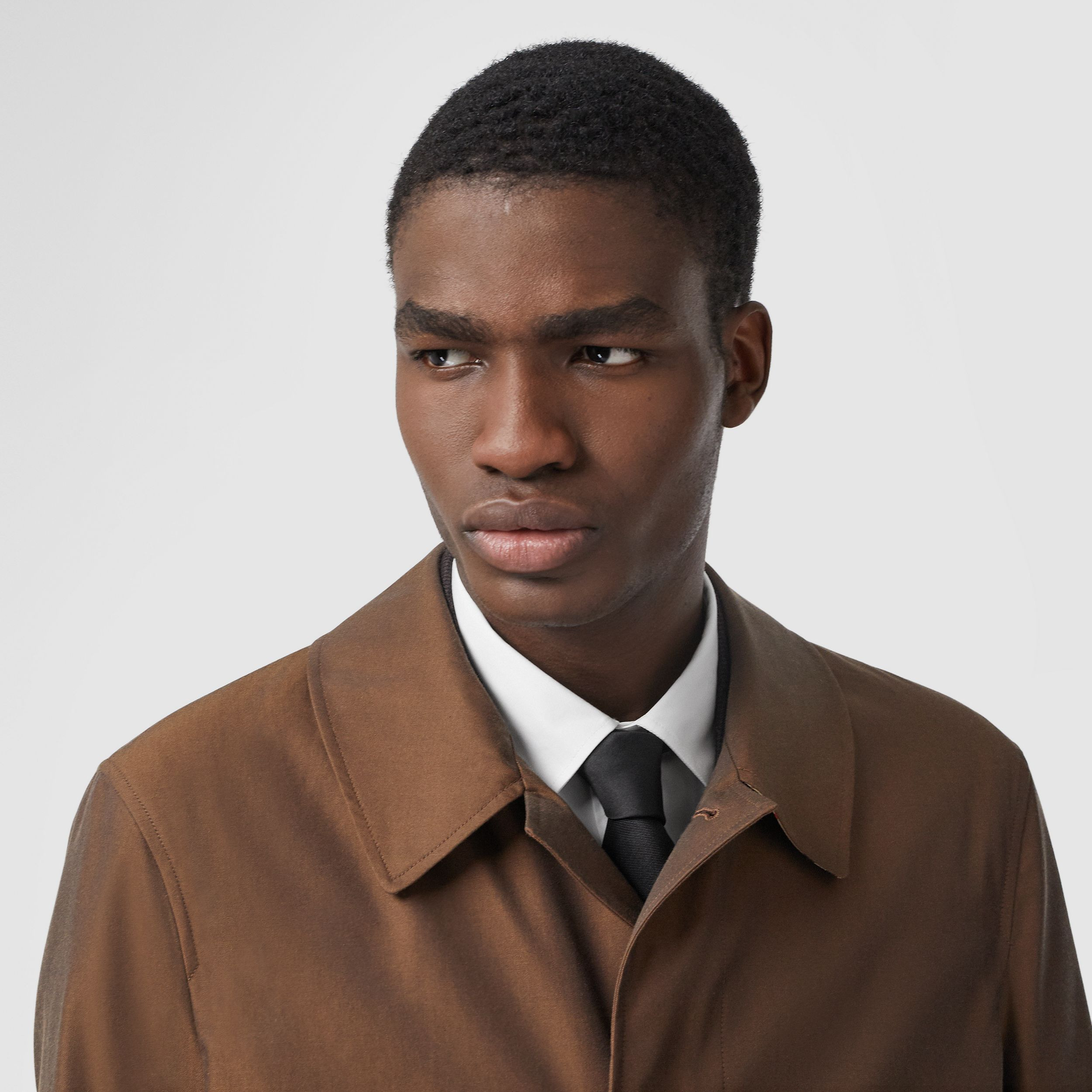 The Pimlico Heritage Car Coat in Amber Brown - Men | Burberry - 2