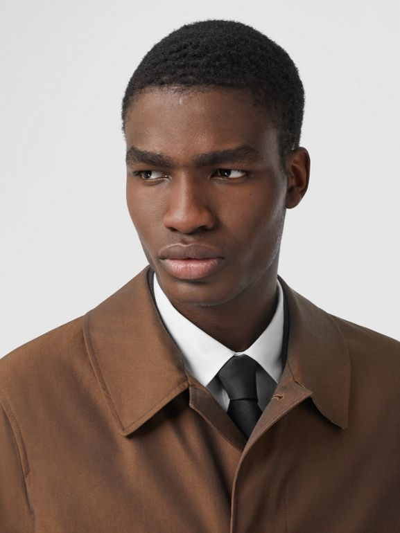The Pimlico Heritage Car Coat in Amber Brown - Men | Burberry - cell image 1
