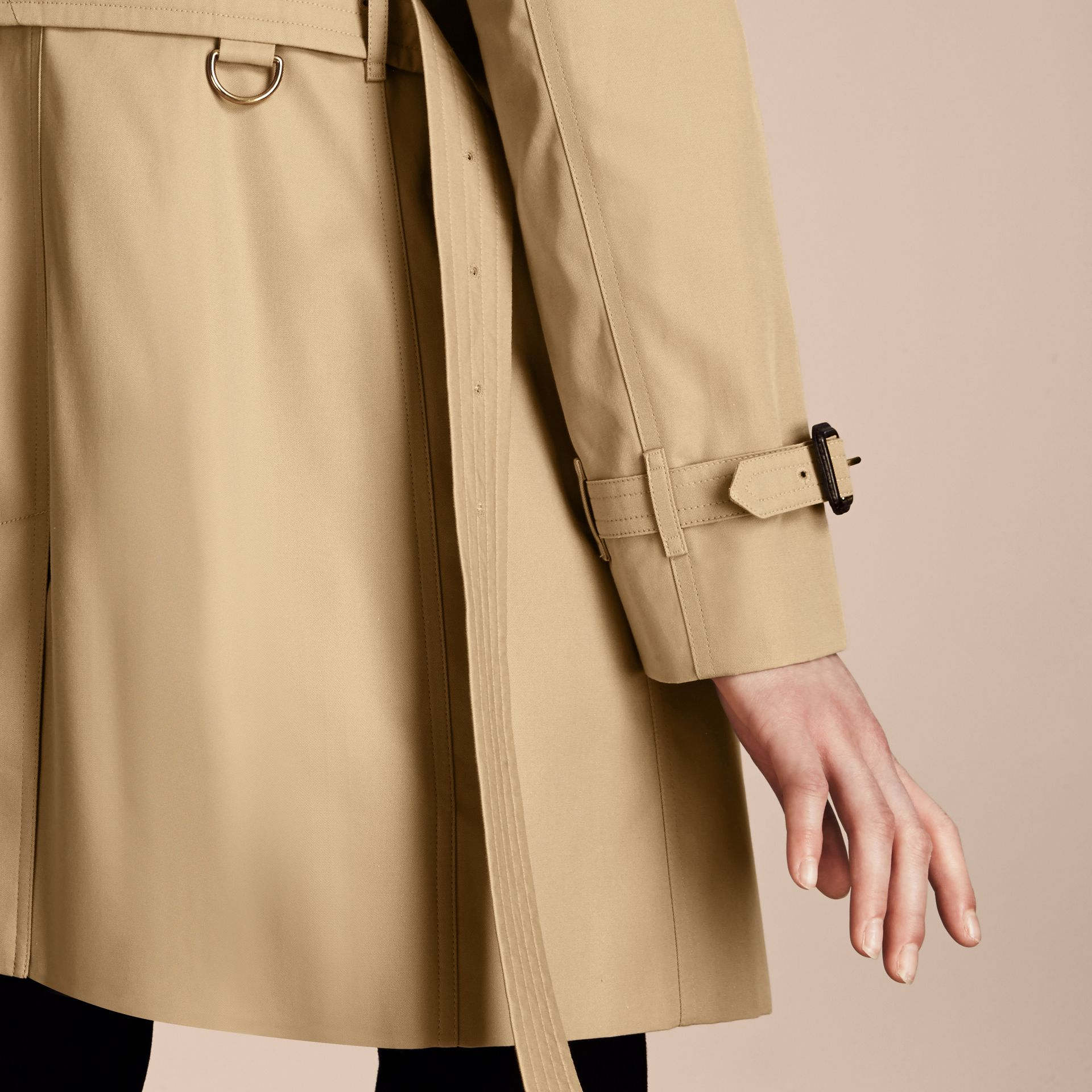 Honey The Westminster – Long Heritage Trench Coat Honey - gallery image 5