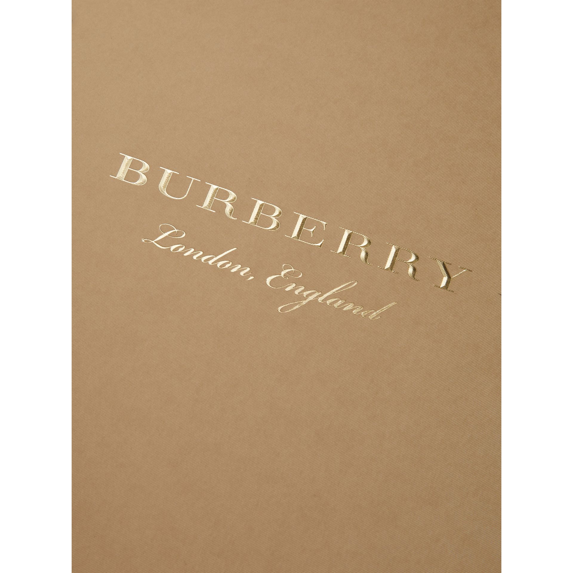 A4 Notebook Refill in Honey | Burberry Australia - gallery image 1