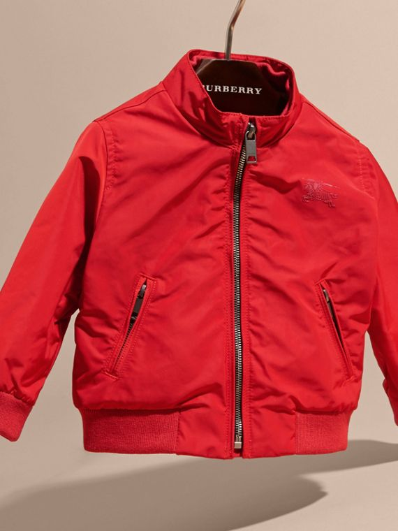 Technical Packaway Jacket in Military Red | Burberry - cell image 2