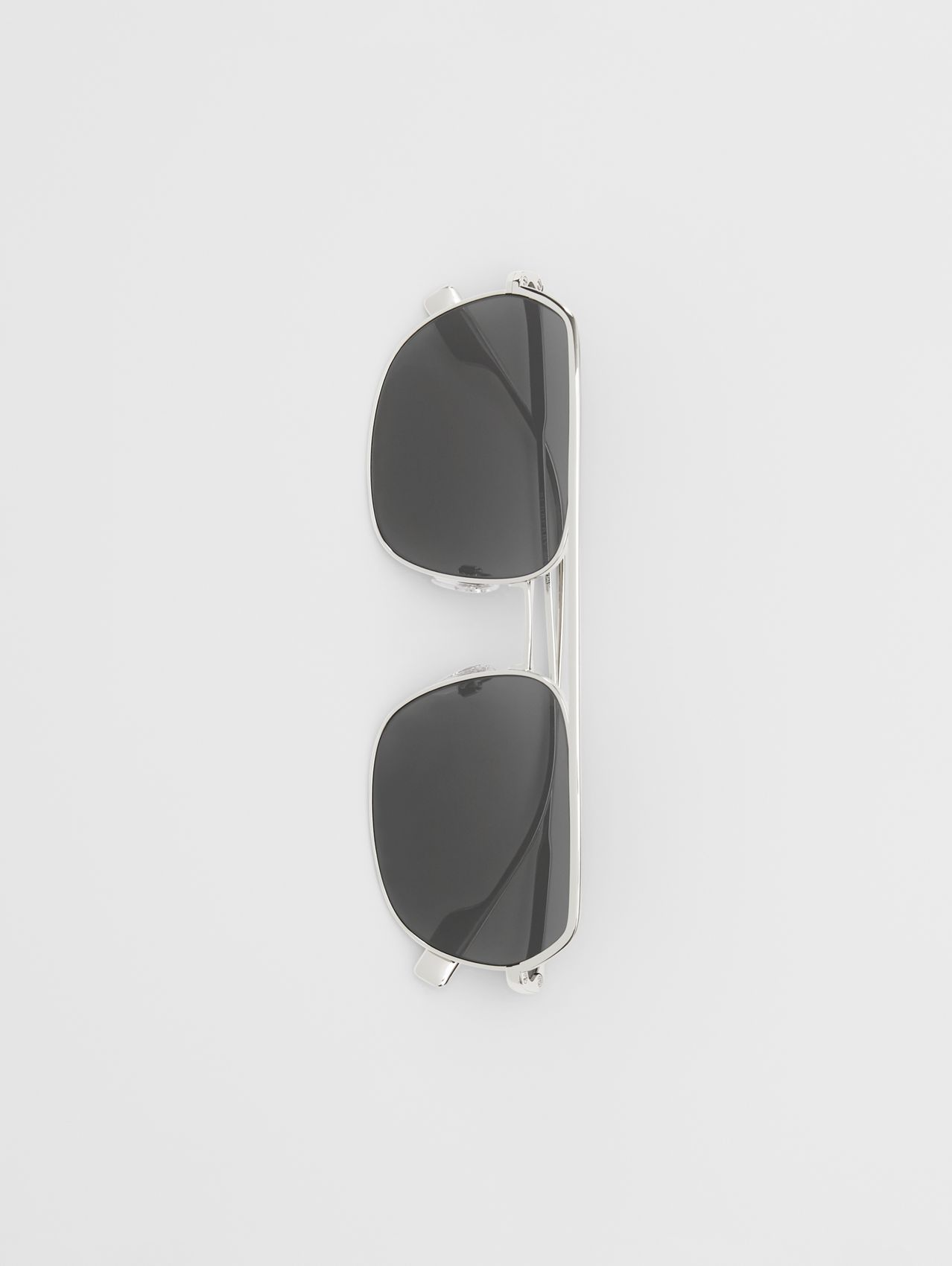 Square Pilot Sunglasses (Silver)