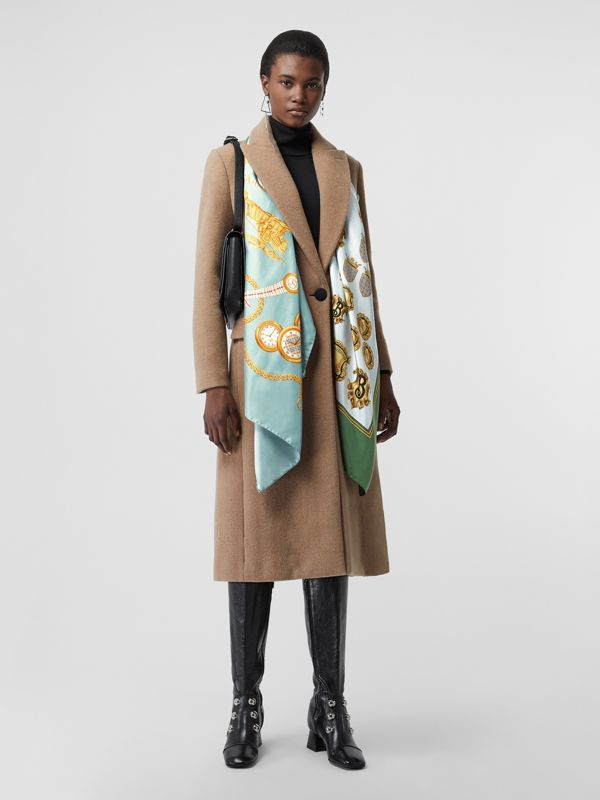 Archive Scarf Print Silk Scarf in Multicolour - Women | Burberry Australia - cell image 2