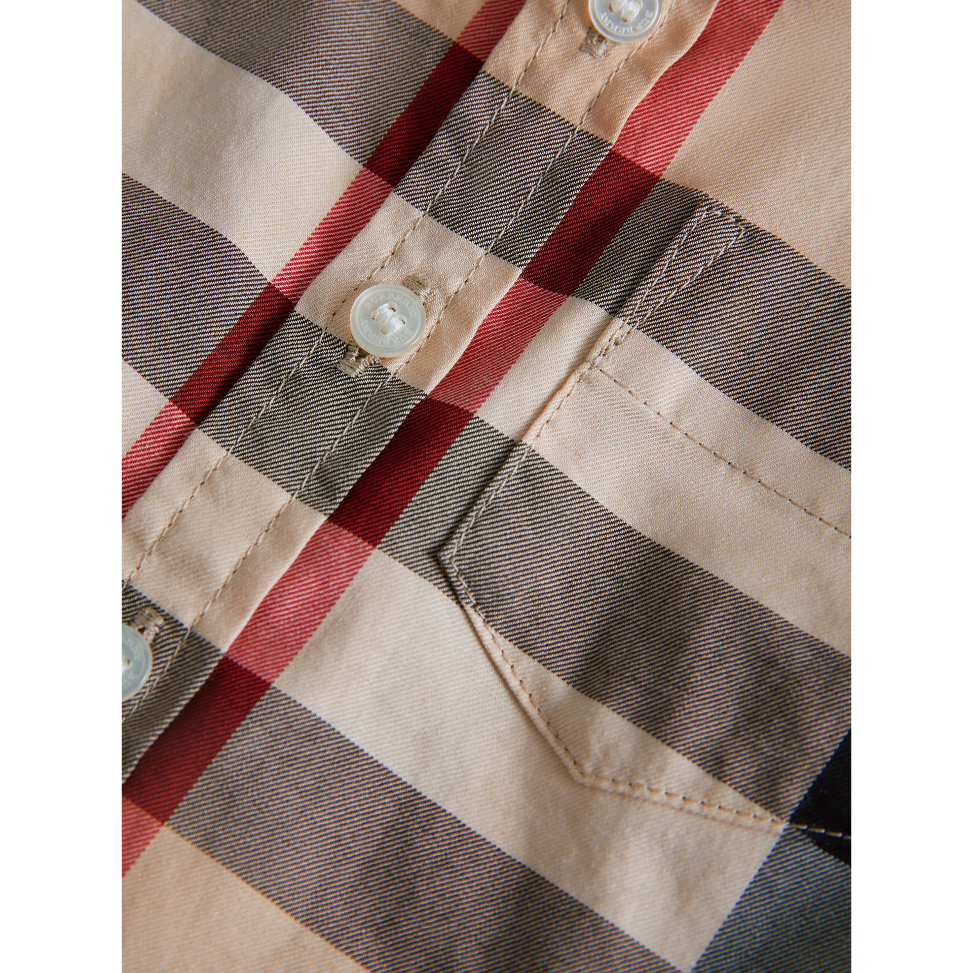 Check Cotton Twill Shirt in New Classic - Boy | Burberry United Kingdom - gallery image 1