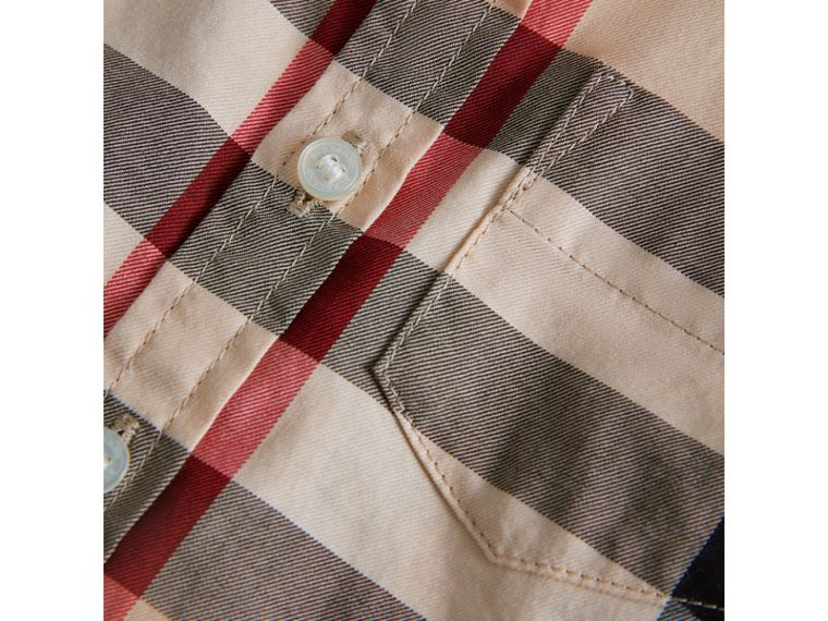 Check Cotton Twill Shirt in New Classic - Boy | Burberry United Kingdom - cell image 1