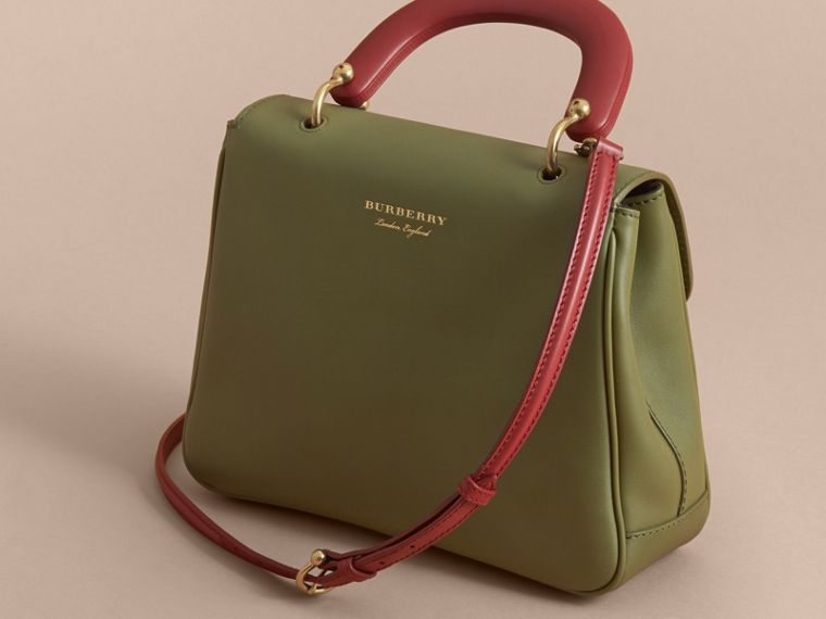 The Medium DK88 Top Handle Bag Moss Green - cell image 4