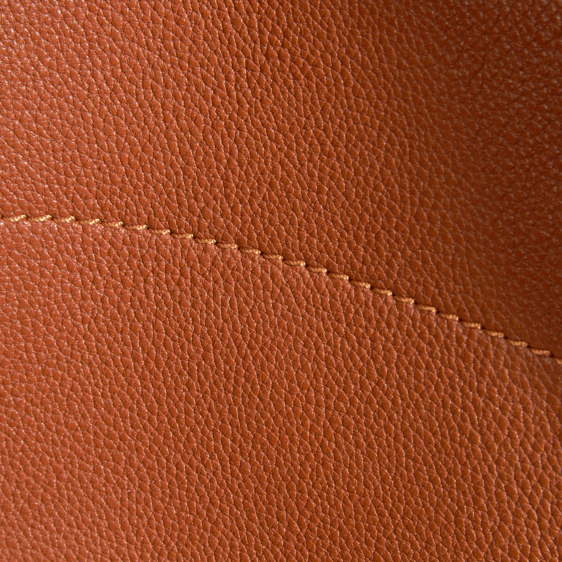 Bright toffee The Medium Milton in Grainy Leather Bright Toffee - gallery image 6