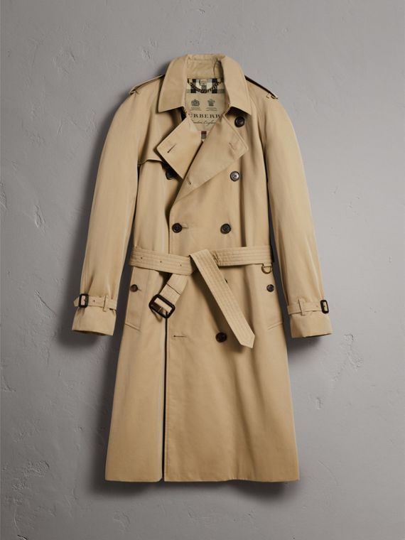 The Westminster – Extra-long Heritage Trench Coat in Honey - Men | Burberry Hong Kong - cell image 3