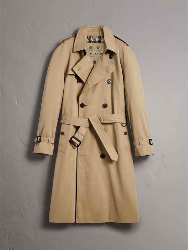 The Westminster – Extra-long Trench Coat in Honey - Men | Burberry United States - cell image 3
