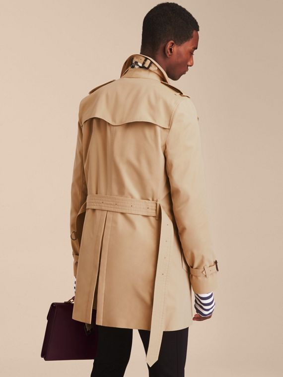 Honey The Sandringham – Mid-length Heritage Trench Coat Honey - cell image 3