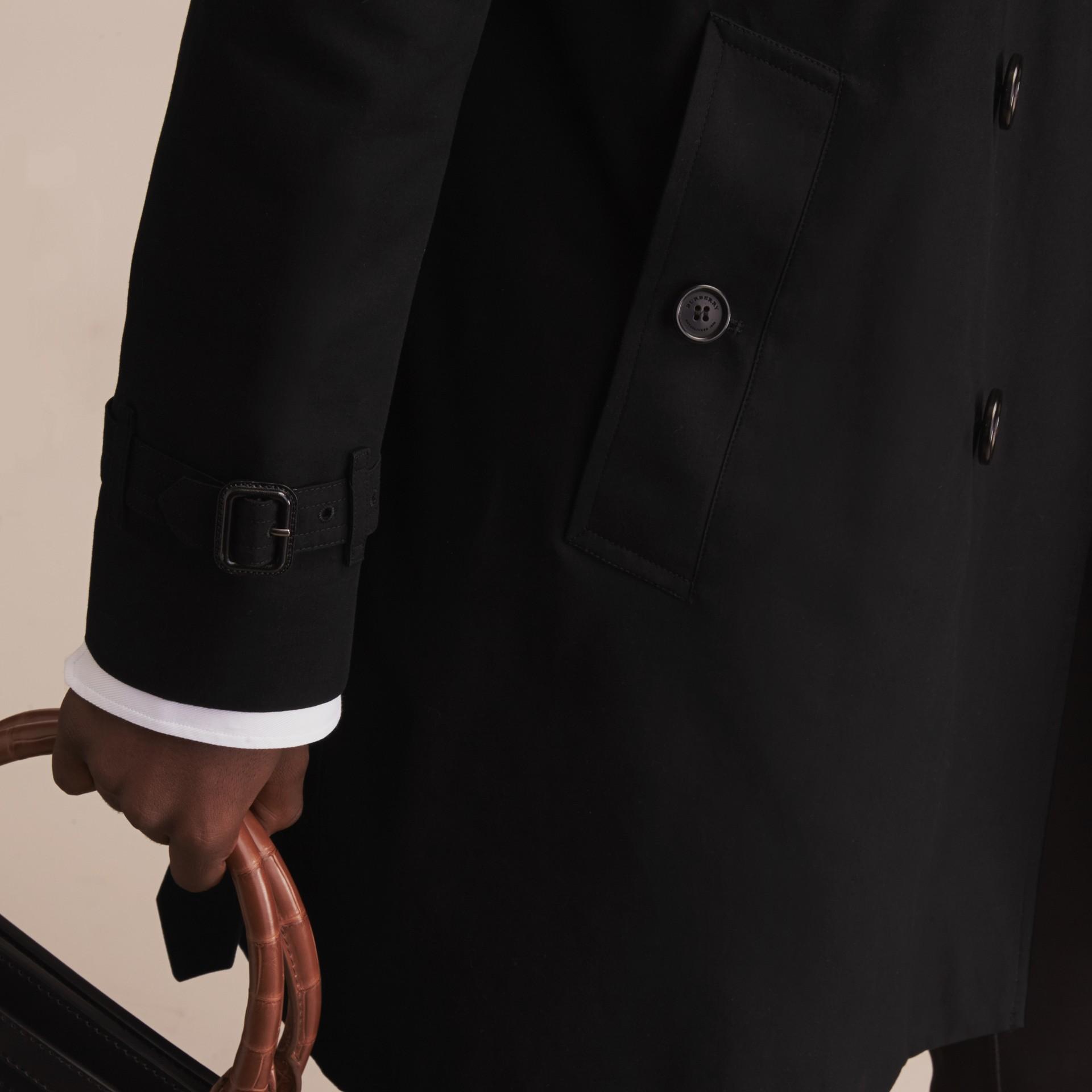 Noir The Sandringham – Trench-coat Heritage long Noir - photo de la galerie 8