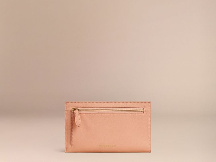 Pink apricot Grainy Leather Travel Case Pink Apricot - cell image 2