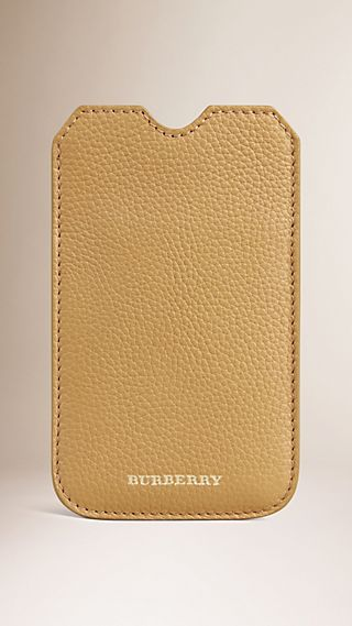 Grainy Leather iPhone 5/5S Case