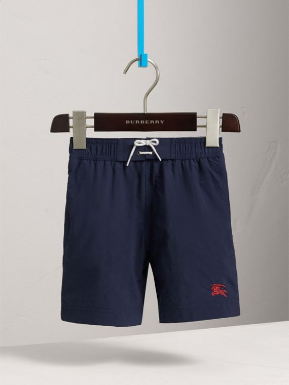 Lightweight Swim Shorts in Indigo - Boy | Burberry Singapore - cell image 2