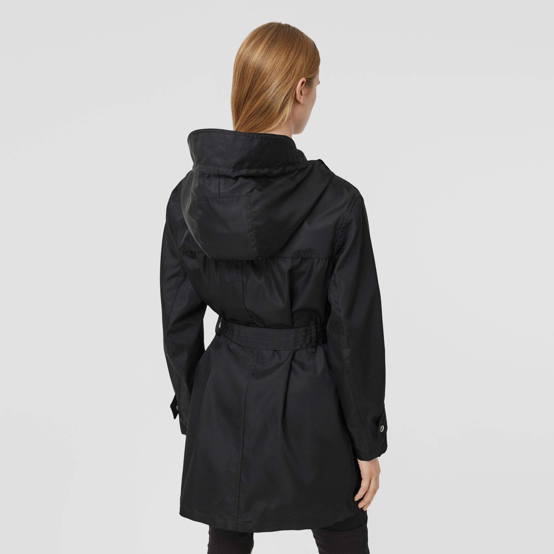 ECONYL® Parka in Black - Women | Burberry Australia - gallery image 2