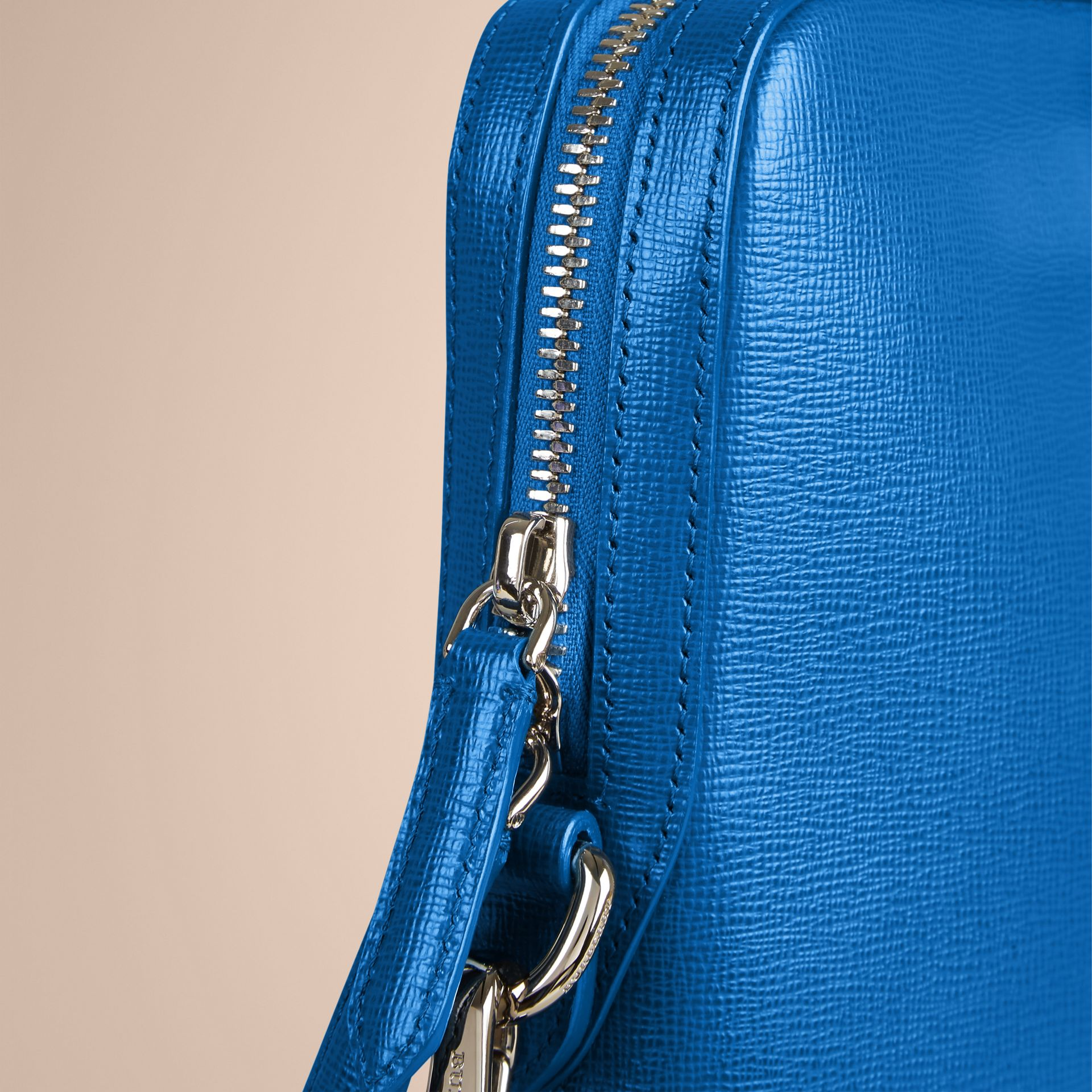 Mineral blue The Slim Barrow in London Leather Mineral Blue - gallery image 6