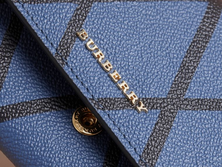 Trompe L'oeil Print Leather Continental Wallet - Women | Burberry - cell image 1