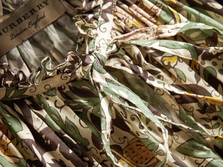Sleeveless Beasts Print Lightweight Cotton Top - Women | Burberry - cell image 1