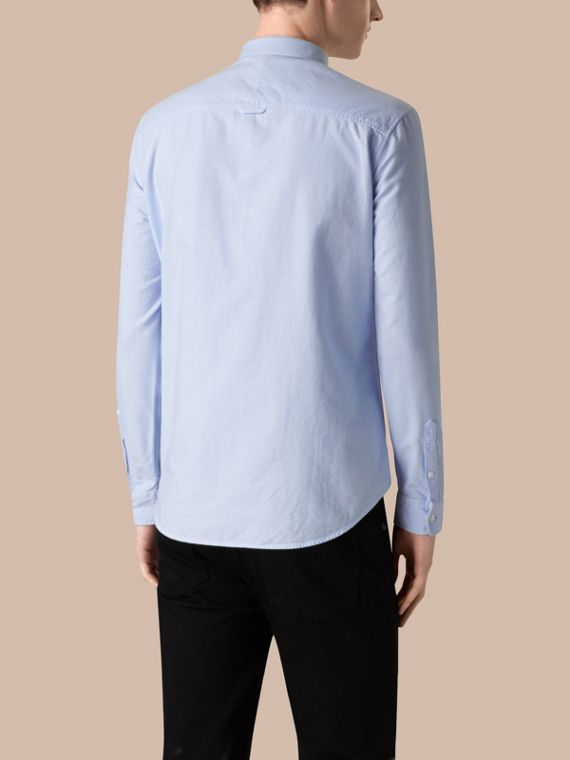 Pale blue Cotton Oxford Shirt Pale Blue - cell image 2