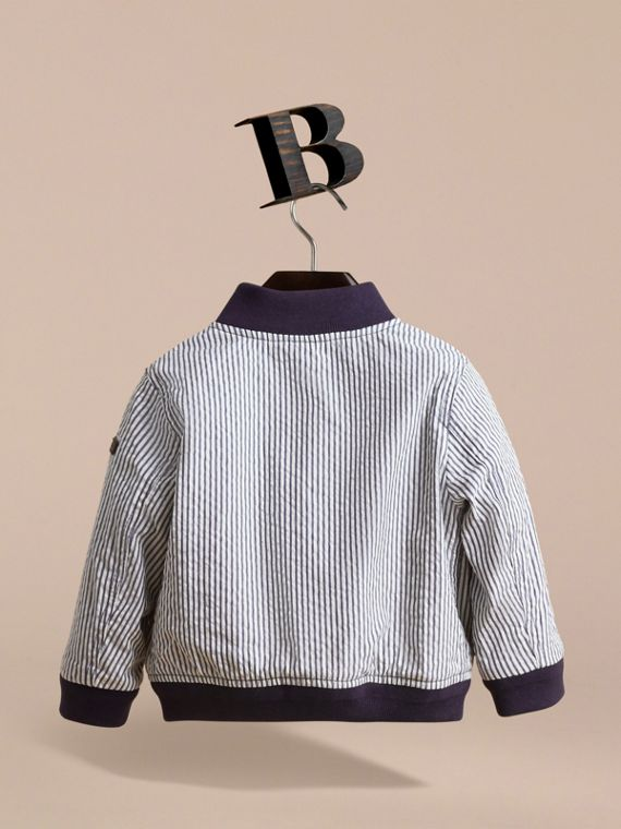 Lightweight Striped Seersucker Jacket - cell image 3