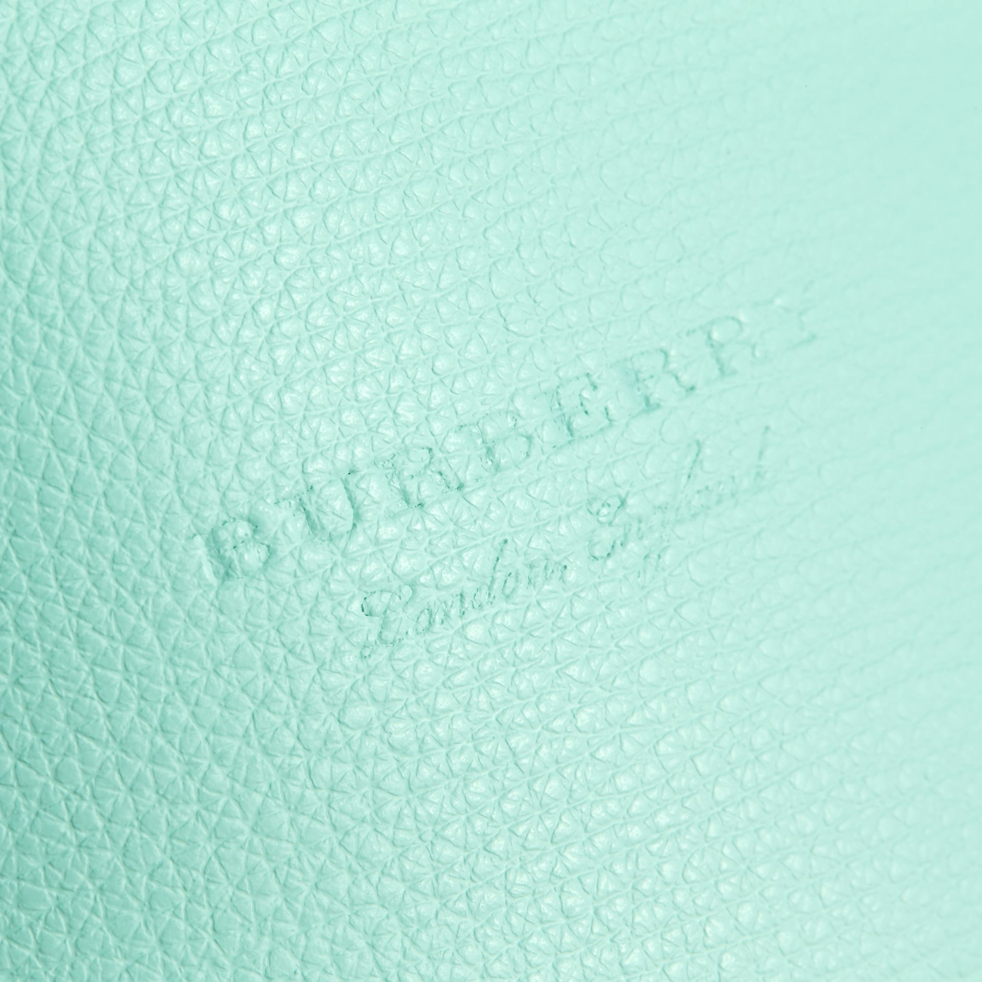 Leather and Haymarket Check Crossbody Bucket Bag in Pale Opal - Women | Burberry - gallery image 5