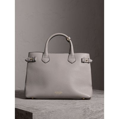 Burberry - Sac The Banner medium en cuir et coton House check - 8