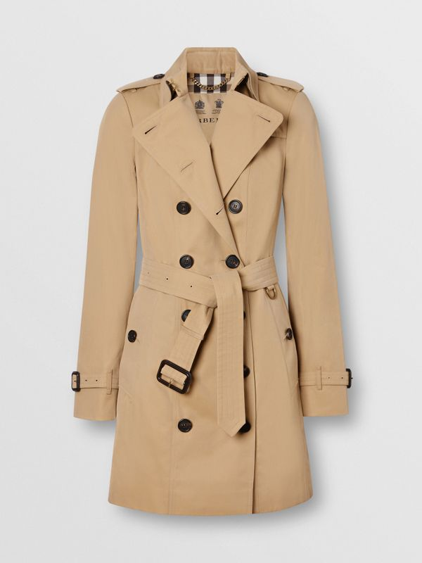 The Sandringham – Mid-length Trench Coat in Honey - Women | Burberry United States - cell image 3