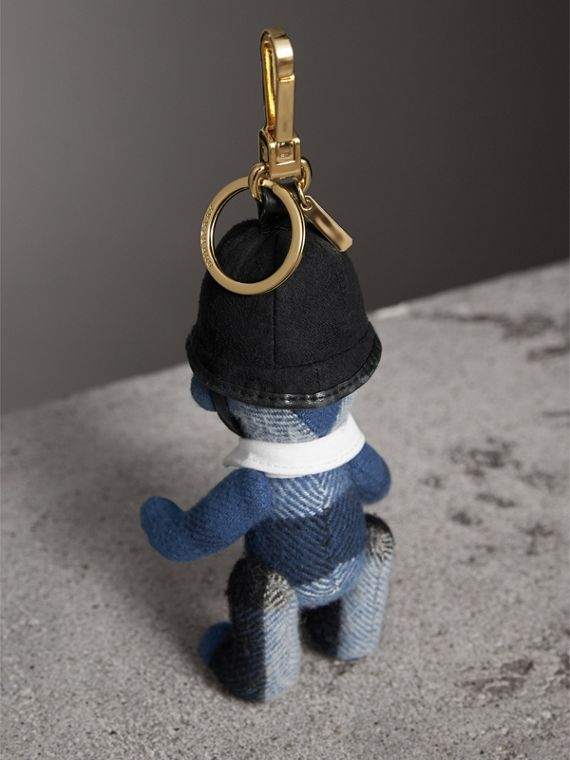 The Bobby Thomas Bear Charm in Cadet Blue | Burberry - cell image 3
