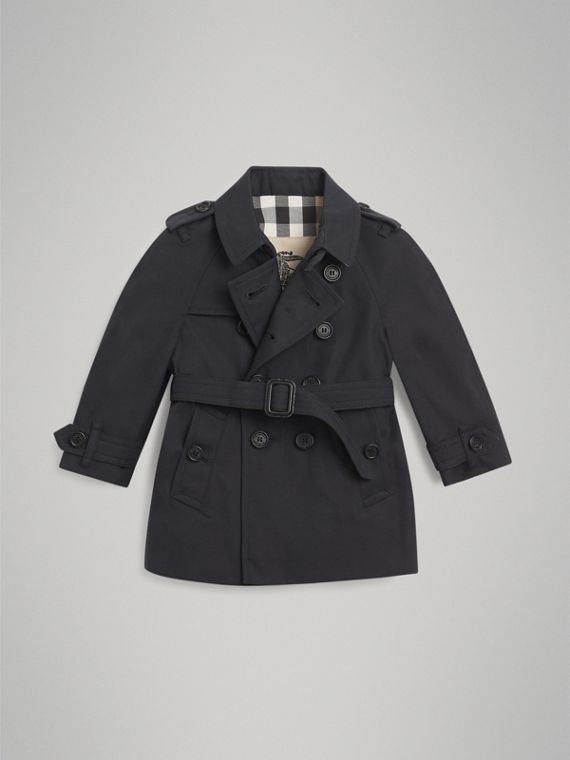 The Wiltshire Trench Coat in Navy | Burberry Australia - cell image 2
