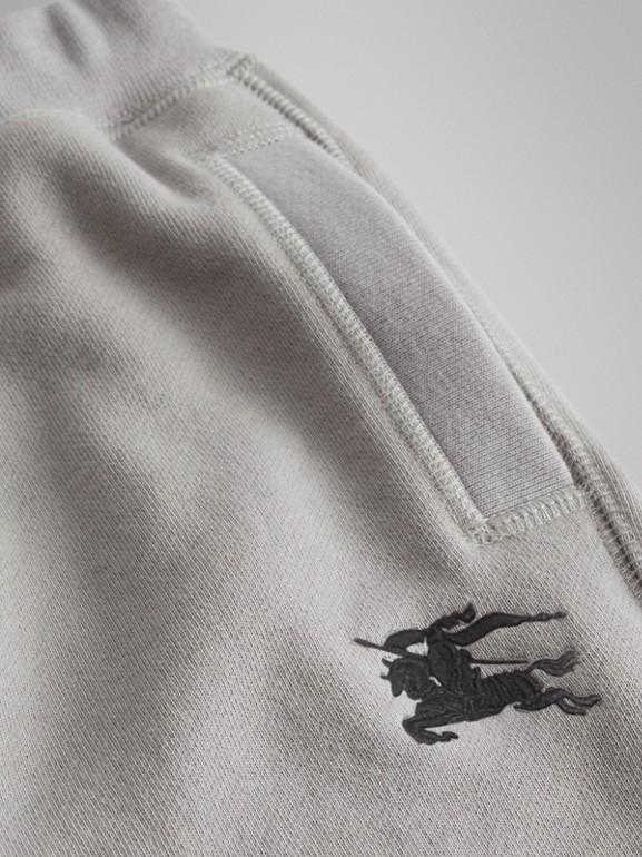 Pantalon de survêtement en jersey de coton (Camaïeu  Gris Craie) | Burberry - cell image 1